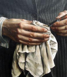 Carel Willink - self portrait, detail - 1936