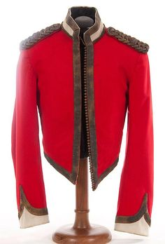 A British Victorian 2nd Dragoon Guards Major's mess dress jacket, circa 1890…