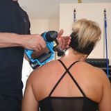 This device treats sore muscles.