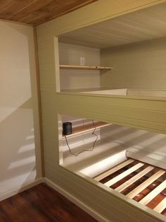 Decorate your room in a new style with murphy bed plans Double Bunk Beds, Bunk Beds Built In, Modern Bunk Beds, Bunk Beds With Stairs, Cool Bunk Beds, Kids Bunk Beds, Build In Bunk Beds, Murphy Bunk Beds, Custom Bunk Beds