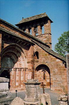 Romanic church - Espalion, Midi-Pyrenees