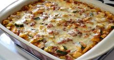 Baked Vegetable Polenta Casserole I seasoned the Polenta with more spices and garlic powder and I thought it was delicious :) Greek Recipes, Veggie Recipes, Italian Recipes, Vegetarian Recipes, Cooking Recipes, Healthy Recipes, Vegetarian Italian, Fast Recipes, Healthy Options