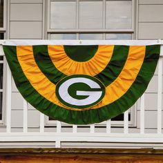 Green Bay Packers Team Bunting at the Packers Pro Shop http://www.packersproshop.com/sku/1001488010/