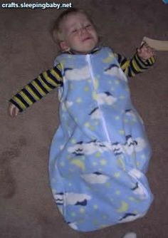 sleep sac tutorial