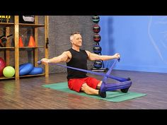 Reverse Fly with Flex Band: Nice variation. I must experiment to see if this positioning works for Spine Twist and Saw...