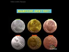 The Rio 2016 Olympic Medals And What They Mean - YouTube