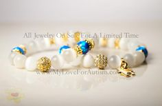All Jewelry on Sale For a Limited Time Only!Log On To Our WEBSITE For : Beautiful Autism Awareness Jewelry for Autism, and Fashion Forward One of a Kind Designs of Genuine Swarovski Crystal, SAPPHIRE Crystals, Precious Stones an Sterling Silver.   www.MyLoveForAutism.com ❤