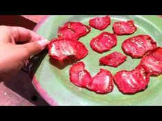 how to make sun blushed tomatoes at home