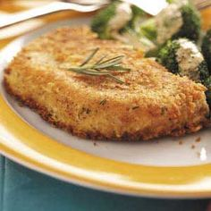 Parmesan Pork Chops Recipe... I love mine, but I never thought of using Bisquick before so I might just have to try this one.