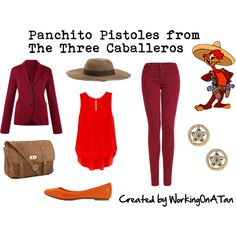 Panchito Pistoles from The Three Caballeros
