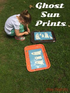 Halloween Ghost Sun Prints