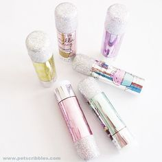 How to prevent glitter from falling off (7)