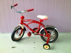 Vintage Red Radio Flyer Tricycle on Etsy, $75.00