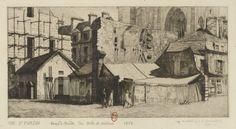 Rue St Martin : Corps de garde des Arts et Métiers, 1863