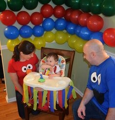 Flavors by Four: Sesame Street Birthday Party Ideas
