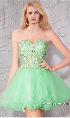 http://www.ikmdresses.com/eye-catching-rhinestones-corset-style-layered-tulle-short-baby-doll-lace-dress-p60638