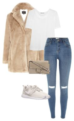"""""""Untitled #611"""" by cmmxo ❤ liked on Polyvore featuring Coast, T By Alexander Wang, River Island, Chloé and NIKE"""