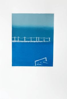 Printing Ink, Screen Printing, Sea Paintings, Number 5, Wall Photos, Paper Size, Printmaking, Sydney, Composition