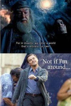 Inception Harry Potter meme