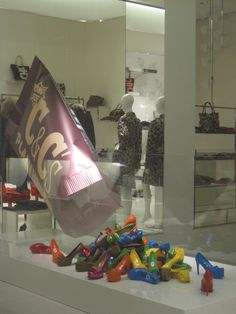 """Moschimo, Milan, Italy, """" inspired by M&M's candy"""", pinned by Ton van der Veer"""
