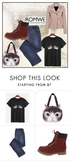 """""""romwe"""" by dolby ❤ liked on Polyvore featuring IRO"""