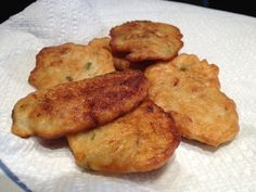 Salt Fish Cakes - From the kitchen of our favorite cook, Tanisha Bailey-Roka, The Crucian Contessa. This traditional island recipe is a staple of island cooking! Here's the full recipe: http://www.cruciancontessa.com/2012/04/07/salt-fish-cakes/