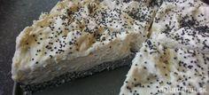Fotorecept: Nepečený makový koláč bez lepku a laktózy