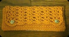 Romantic Crochet Clutch - Mustard with Lining - Made to Order crochetFTGC