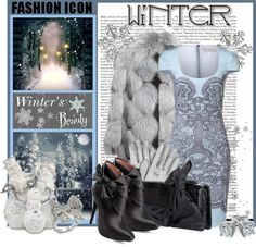 """""""Winter's Beauty"""" by defineyourstyle ❤ liked on Polyvore"""