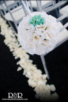 Flower Arrangements | Wedding Florist | Wedding Ceremony | White Roses | Wedding Florist | Flower Balls | Charmaine's Bouquet Canyon Florist | #flower #arrangements #wedding #florist #ceremony #white #roses #florist #flower #balls #CharmainesBouquetCanyonFlorist