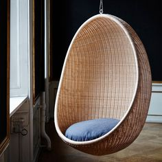 #Vintage #1960u0027s/ 70u0027s Rattan U0026 Bamboo Hanging Egg #chair, View More On The  LINK: Http://www.zeppy.io/product/gb/2/111891736540/   1960s   Pinterest    Egg ...