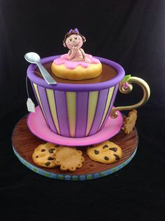 Baby shower cake   Flickr - Photo Sharing!