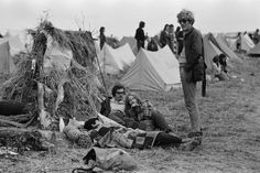 The Isle of Wight festival started in 1968, although not as we know it today.