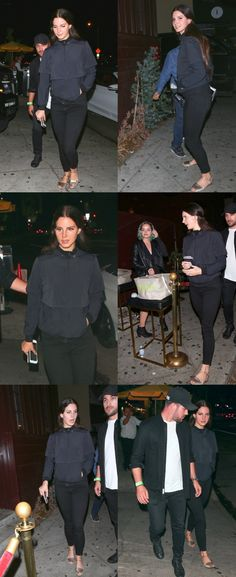 Sept.12, 2017: Lana Del Rey and John Ehmann attend Dave Chappelle's show at The Peppermint Club in West Hollywood #LDR