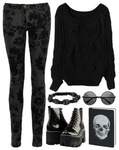 Polyvore Gore. With different shoes!