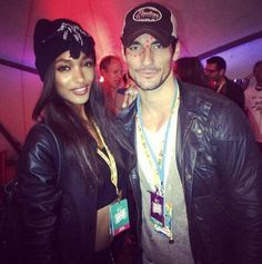 I'd love for these two beautiful people to hook up. Jourdan Dunn and David Gandy.