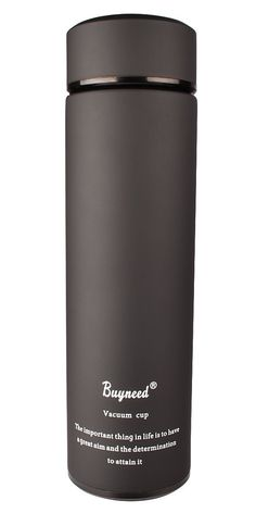 Amazon.com: Double Wall Vacuum Insulated Travel Mug -Stainless Steel Loose Leaf Tea Infuser with Strainer - Coffee Tumbler- Fruit and Juice Infused, Leak-Proof Cup, Portable 16 Oz Thermal Water Bottle, Red: Kitchen & Dining
