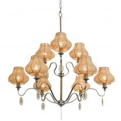 Varaluz Haven 9 Light Hand Applied Finish Chandelier Transitional Home Decor, Transitional Lighting, Transitional Living Rooms, Transitional Style, Mini Chandelier, Modern Chandelier, Chandelier Lighting, Metal Canopy, Light Decorations