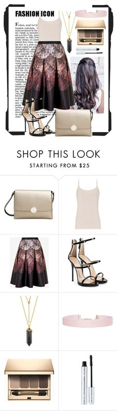 """""""Fashion Thingy"""" by dj-alykat ❤ liked on Polyvore featuring MANGO, Reiss, Ted Baker, Giuseppe Zanotti, Humble Chic, Clarins and 100% Pure"""