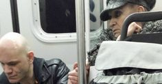 We can learn from the woman who helped stranger on a train.