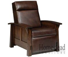 Olde Shaker Recliner Choose From A Variety Of Leather Or Fabrics Hardwoods And