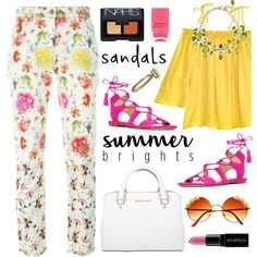 How To Wear Bright Summer Outfit Idea 2017 - Fashion Trends Ready To Wear For Plus Size, Curvy Women Over 20, 30, 40, 50