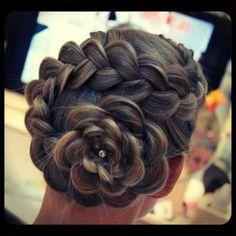 fun hair-do :)
