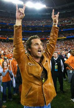 Matthew McConaughey : 23 most die-hard celebrity sports fans