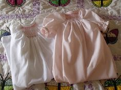 everythingsewing: Jiffy Baby daygown instructions