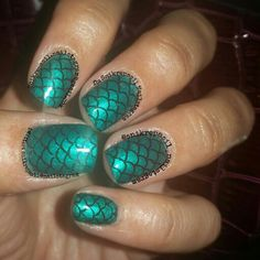 #scalenails #mermaidnails
