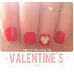 The Very Adorable Valentine's Day Manicure : Lucky Magazine