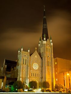 Cathedral of St. Andrew, in downtown Little Rock, Arkansas