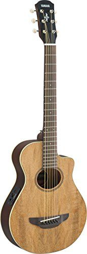 Yamaha+APXT2EW+3/4-Size+Acoustic-Electric+Guitar+with+Gig+Bag,+Figured+Natural