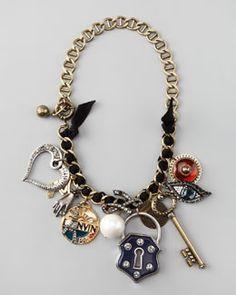Y14ZW Lanvin Charm Necklace Jewelreally |Jewelry - Daily Deals| lanvin jewelry